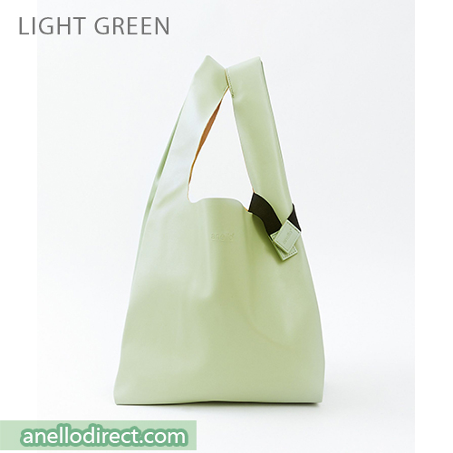 Anello ALTON PU Leather Tote Bag ATB3647 Light Green Japan Original Official Authentic Real Genuine Bag Free Shipping Worldwide Special Discount Low Prices Great Offer