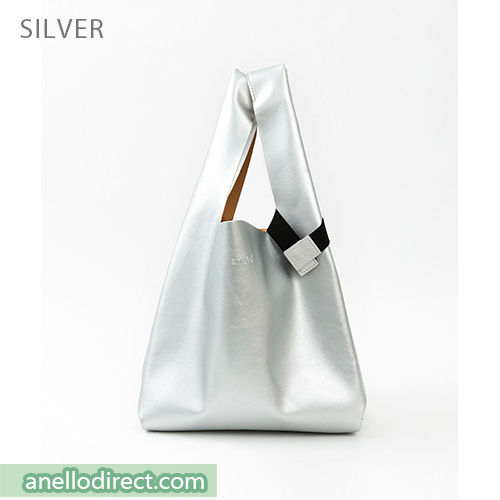 Anello ALTON PU Leather Tote Bag ATB3647 Silver Japan Original Official Authentic Real Genuine Bag Free Shipping Worldwide Special Discount Low Prices Great Offer