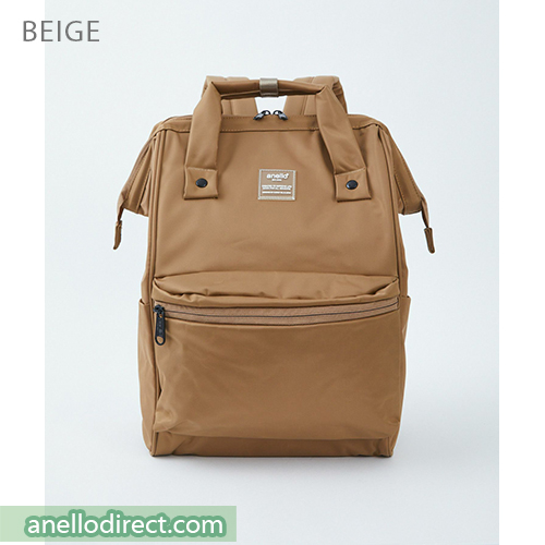 Anello SHIFTⅡ Water Repellent Nylon Backpack Regular Size ATC3473 Beige Japan Original Official Authentic Real Genuine Bag Free Shipping Worldwide Special Discount Low Prices Great Offer