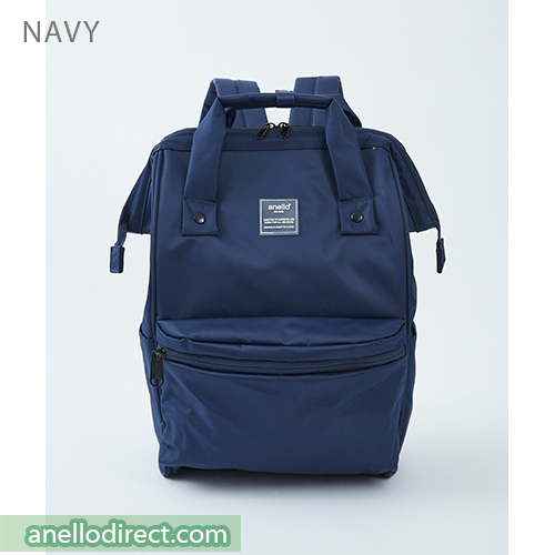 Anello SHIFTⅡ Water Repellent Nylon Backpack Regular Size ATC3473 Navy Japan Original Official Authentic Real Genuine Bag Free Shipping Worldwide Special Discount Low Prices Great Offer