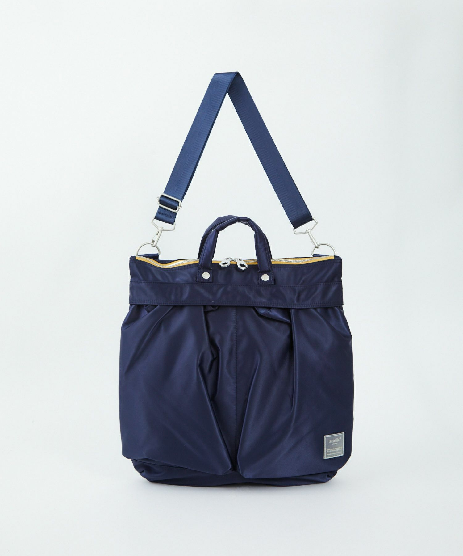 Anello SABRINA Nylon 2 Way Regular Shoulder Bag ATT0504 Navy Japan Original Official Authentic Real Genuine Bag Free Shipping Worldwide Special Discount Low Prices Great Offer