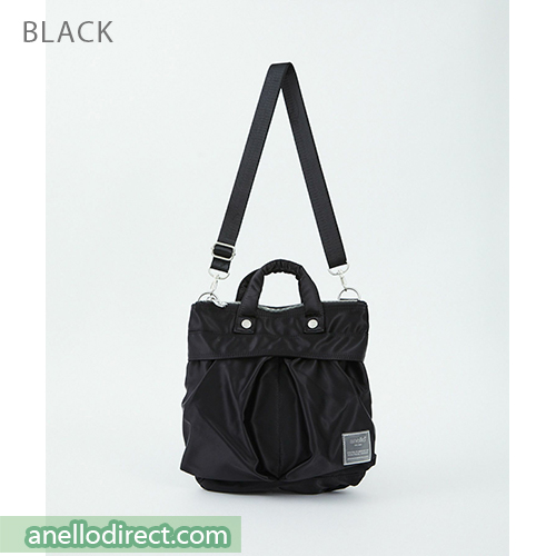 Anello SABRINA Nylon 2 Way Mini Shoulder Bag ATT0505 Black Japan Original Official Authentic Real Genuine Bag Free Shipping Worldwide Special Discount Low Prices Great Offer