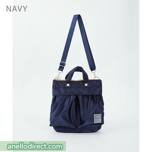 Anello SABRINA Nylon 2 Way Mini Shoulder Bag ATT0505 Navy Japan Original Official Authentic Real Genuine Bag Free Shipping Worldwide Special Discount Low Prices Great Offer