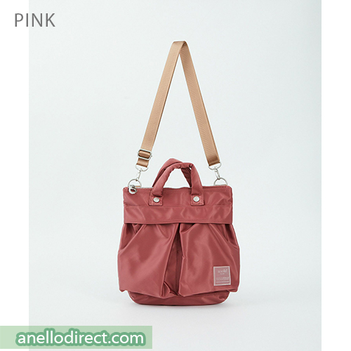 Anello SABRINA Nylon 2 Way Mini Shoulder Bag ATT0505 Pink Japan Original Official Authentic Real Genuine Bag Free Shipping Worldwide Special Discount Low Prices Great Offer