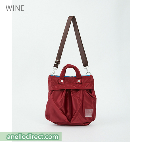 Anello SABRINA Nylon 2 Way Mini Shoulder Bag ATT0505 Wine Japan Original Official Authentic Real Genuine Bag Free Shipping Worldwide Special Discount Low Prices Great Offer