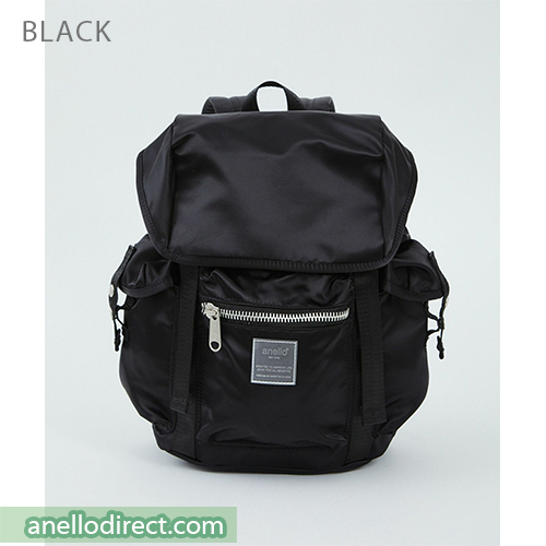 Anello SABRINA Flap Nylon Backpack Regular Size ATT0506 Black Japan Original Official Authentic Real Genuine Bag Free Shipping Worldwide Special Discount Low Prices Great Offer