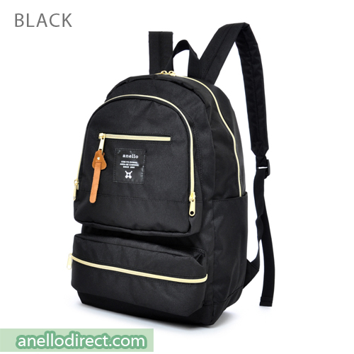 Anello Three Dimensional Pocket Backpack Rucksack AU-N0641 Black Japan Original Official Authentic Real Genuine Bag Free Shipping Worldwide Special Discount Low Prices Great Offer