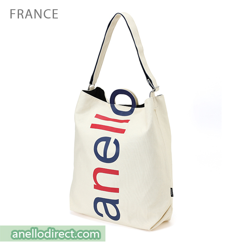 Anello O Handle 2 Way Tote Bag Handbag AU-S0061 France Japan Original Official Authentic Real Genuine Bag Free Shipping Worldwide Special Discount Low Prices Great Offer