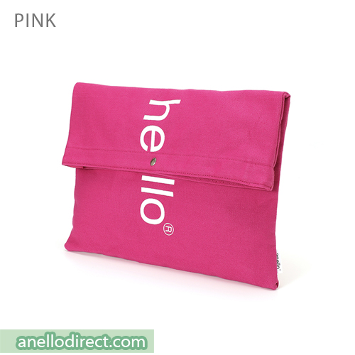 Anello Polyester Cotton 3 Way Clutch Tote Shoulder Bag AU-S0131 Pink Japan Original Official Authentic Real Genuine Bag Free Shipping Worldwide Special Discount Low Prices Great Offer