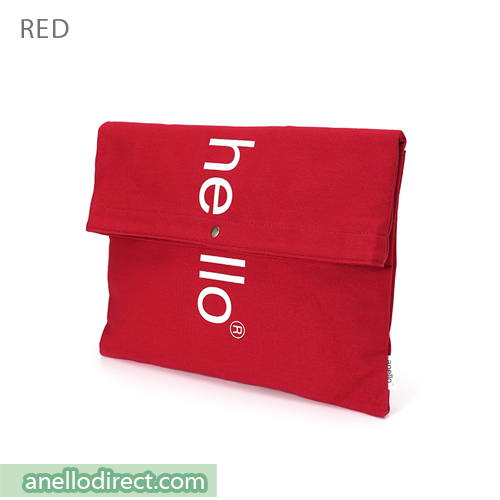 Anello Polyester Cotton 3 Way Clutch Tote Shoulder Bag AU-S0131 Red Japan Original Official Authentic Real Genuine Bag Free Shipping Worldwide Special Discount Low Prices Great Offer