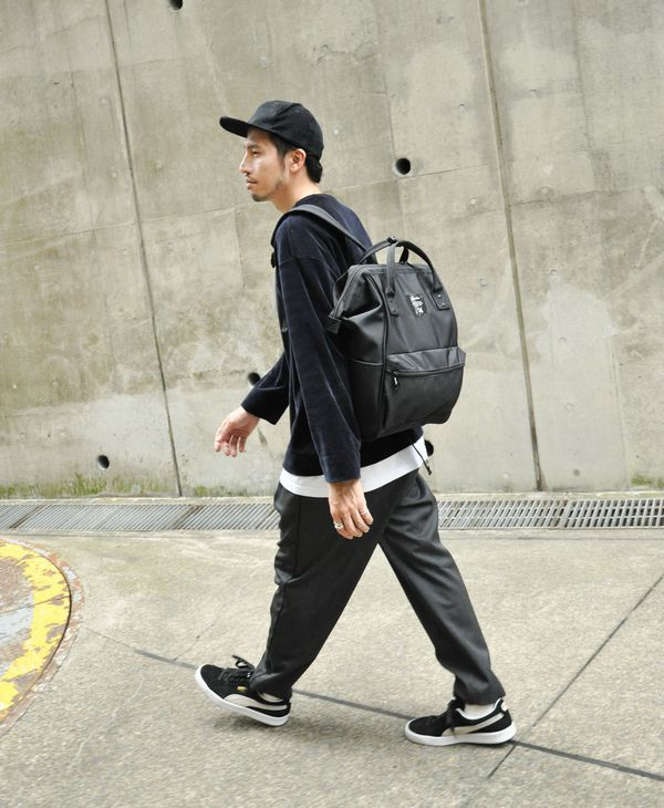 ALL BLACK Anello Limited Edition Backpack Rucksack EC-B001 5