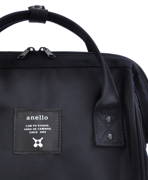 ALL BLACK Anello Limited Edition Backpack Rucksack EC-B001 6