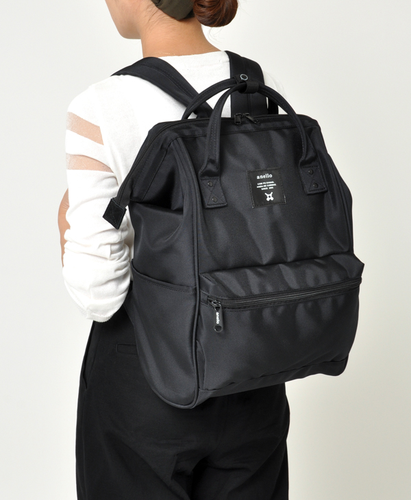 ALL BLACK Anello Limited Edition Backpack Rucksack EC-B001 2