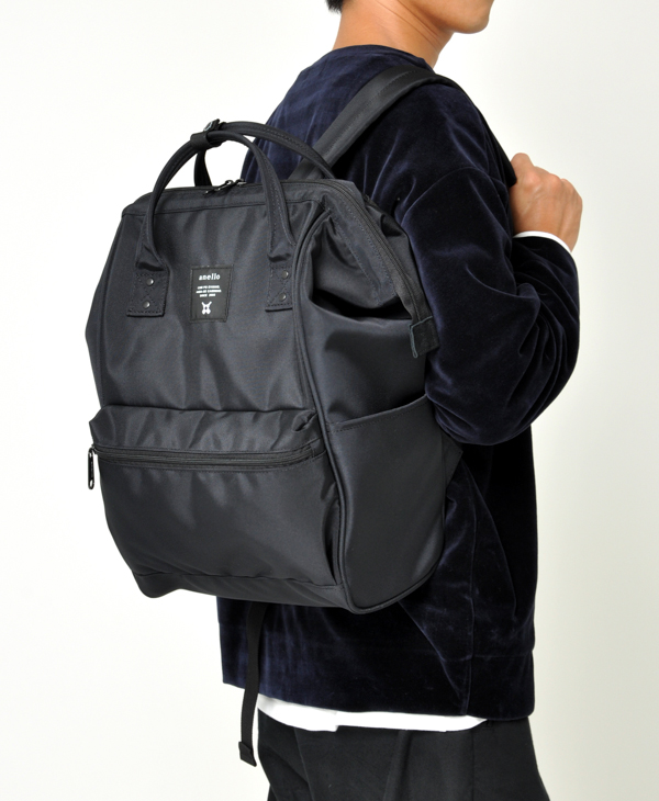 ALL BLACK Anello Limited Edition Backpack Rucksack EC-B001 3