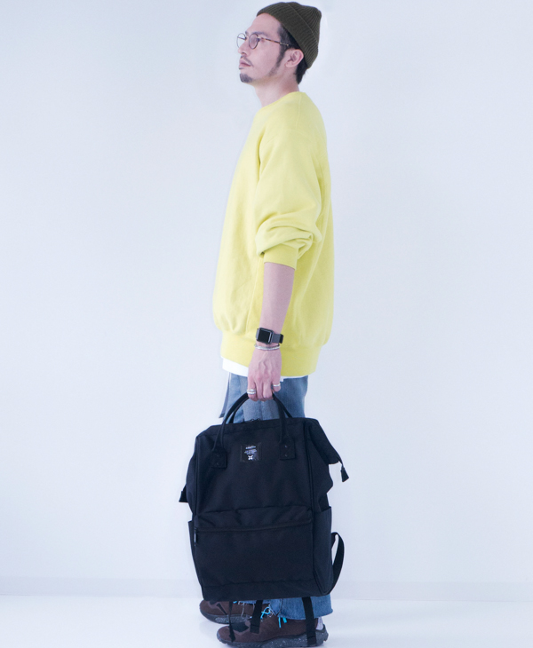 ALL BLACK Anello Limited Edition Backpack Rucksack EC-B002 5