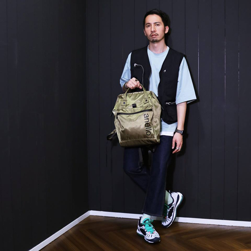 Anello Waterproof REPELLENCY Edition Backpack Rucksack FSO-B001 Khaki Japan Original Official Authentic Real Genuine Bag Free Shipping Worldwide Special Discount Low Prices Great Offer