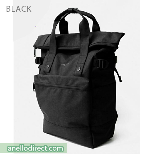 Anello URBAN STREET Polyester Backpack Rucksack FSO-C109 Black Japan Original Official Authentic Real Genuine Bag Free Shipping Worldwide Special Discount Low Prices Great Offer