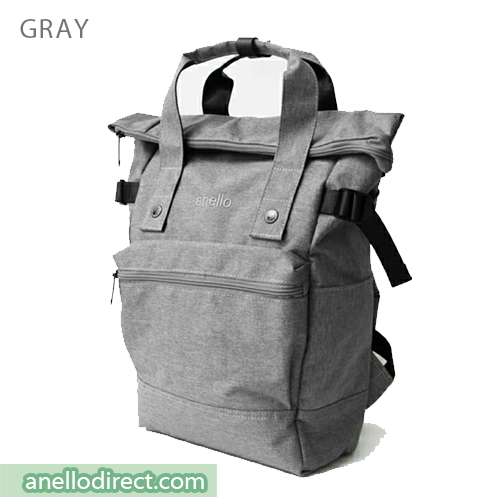 Anello URBAN STREET Polyester Backpack Rucksack FSO-C109 Gray Japan Original Official Authentic Real Genuine Bag Free Shipping Worldwide Special Discount Low Prices Great Offer