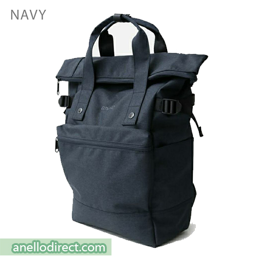 Anello URBAN STREET Polyester Backpack Rucksack FSO-C109 Navy Japan Original Official Authentic Real Genuine Bag Free Shipping Worldwide Special Discount Low Prices Great Offer