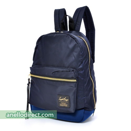 Legato Largo High Density Nylon Backpack Rucksack Regular Size LH-B1021 Navy Japan Original Official Authentic Real Genuine Bag Free Shipping Worldwide Special Discount Low Prices Great Offer