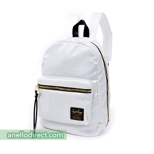 Legato Largo High Density Nylon Backpack Rucksack Regular Size LH-B1021 White Japan Original Official Authentic Real Genuine Bag Free Shipping Worldwide Special Discount Low Prices Great Offer