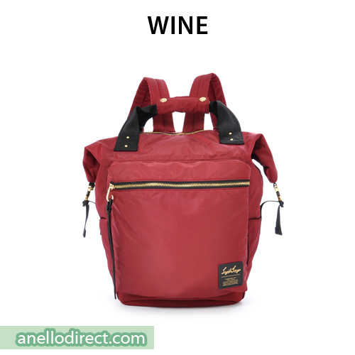 Legato Largo High Density Nylon Boston Backpack Rucksack Regular Size LH-B1028 Wine Japan Original Official Authentic Real Genuine Bag Free Shipping Worldwide Special Discount Low Prices Great Offer