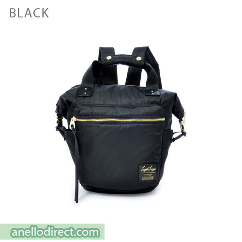 Legato Largo High Density Nylon Boston Backpack Rucksack Mini Size LH-B1444 Black Japan Original Official Authentic Real Genuine Bag Free Shipping Worldwide Special Discount Low Prices Great Offer