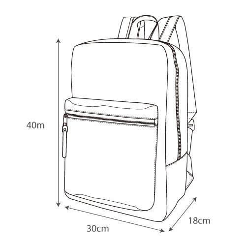 Japan Legato Largo Water Repellent Mat Nylon Twill Backpack Rucksack LH-B3321