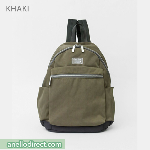 Legato Largo Water Repellent Mat Nylon Twill Backpack Rucksack LH-B3321 Khaki Japan Original Official Authentic Real Genuine Bag Free Shipping Worldwide Special Discount Low Prices Great Offer