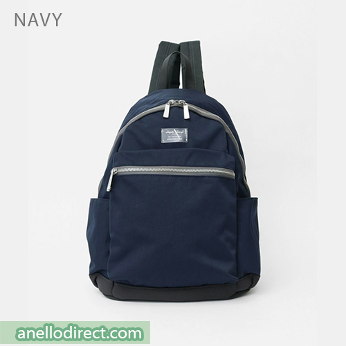 Legato Largo Water Repellent Mat Nylon Twill Backpack Rucksack LH-B3321 Navy Japan Original Official Authentic Real Genuine Bag Free Shipping Worldwide Special Discount Low Prices Great Offer