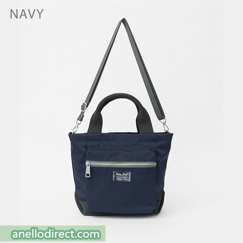 Legato Largo Water Repellent Mat Nylon Twill 2 Way Shoulder Bag LH-B3324 Navy Japan Original Official Authentic Real Genuine Bag Free Shipping Worldwide Special Discount Low Prices Great Offer