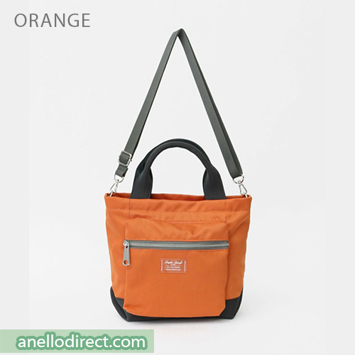 Legato Largo Water Repellent Mat Nylon Twill 2 Way Shoulder Bag LH-B3324 Orange Japan Original Official Authentic Real Genuine Bag Free Shipping Worldwide Special Discount Low Prices Great Offer