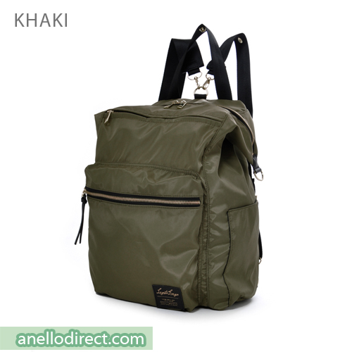 Legato Largo High Density Nylon 3 Way Tote Backpack & Shoulder Bag LH-C1794 Khaki Japan Original Official Authentic Real Genuine Bag Free Shipping Worldwide Special Discount Low Prices Great Offer