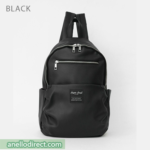 Legato Largo Smooth Grain PU Leather Backpack Rucksack LH-E0981 Black Japan Original Official Authentic Real Genuine Bag Free Shipping Worldwide Special Discount Low Prices Great Offer