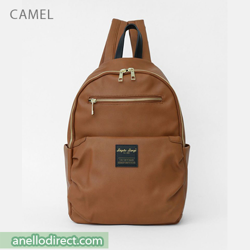 Legato Largo Smooth Grain PU Leather Backpack Rucksack LH-E0981 Camel Japan Original Official Authentic Real Genuine Bag Free Shipping Worldwide Special Discount Low Prices Great Offer