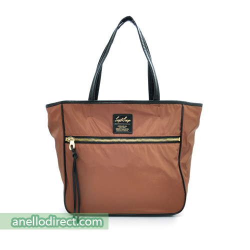 Legato Largo High Density Nylon 10 Pockets 2 Way Tote Shoulder Bag Handbag LH-H0953 Brown Japan Original Official Authentic Real Genuine Bag Free Shipping Worldwide Special Discount Low Prices Great Offer