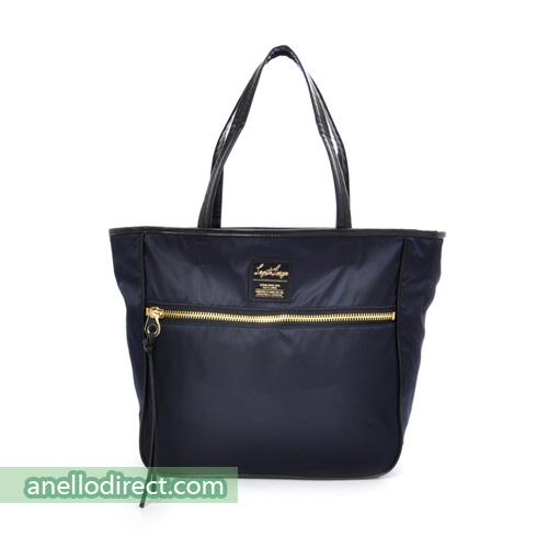 Legato Largo High Density Nylon 10 Pockets 2 Way Tote Shoulder Bag Handbag LH-H0953 Navy Japan Original Official Authentic Real Genuine Bag Free Shipping Worldwide Special Discount Low Prices Great Offer