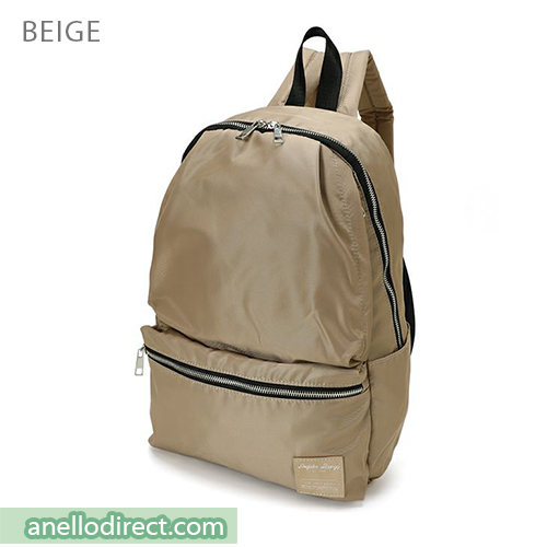 Legato Largo Water Repellent 10 Pocket Backpack Rucksack LH-H1672 Beige Japan Original Official Authentic Real Genuine Bag Free Shipping Worldwide Special Discount Low Prices Great Offer