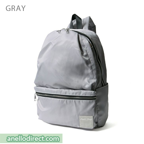 Legato Largo Water Repellent 10 Pocket Backpack Rucksack LH-H1672 Gray Japan Original Official Authentic Real Genuine Bag Free Shipping Worldwide Special Discount Low Prices Great Offer