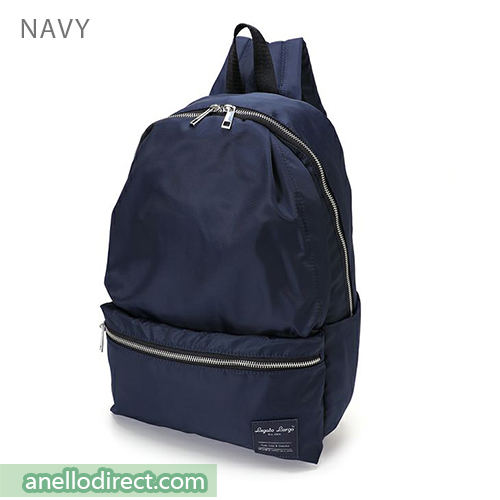 Legato Largo Water Repellent 10 Pocket Backpack Rucksack LH-H1672 Navy Japan Original Official Authentic Real Genuine Bag Free Shipping Worldwide Special Discount Low Prices Great Offer