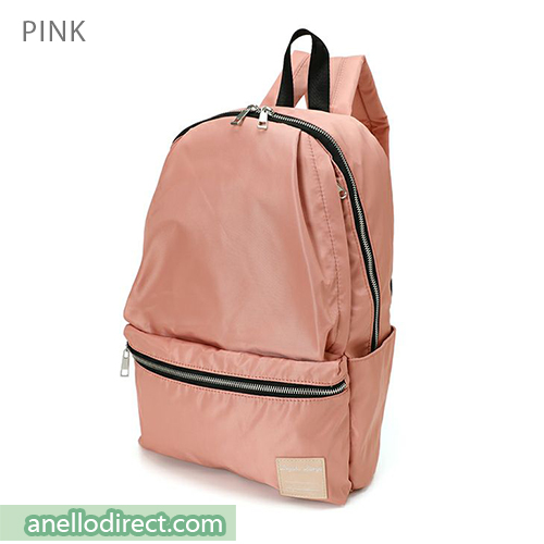 Legato Largo Water Repellent 10 Pocket Backpack Rucksack LH-H1672 Pink Japan Original Official Authentic Real Genuine Bag Free Shipping Worldwide Special Discount Low Prices Great Offer