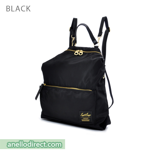 Legato Largo High Density Nylon 2 Way Backpack & Shoulder Bag LH-K1041 Black Japan Original Official Authentic Real Genuine Bag Free Shipping Worldwide Special Discount Low Prices Great Offer