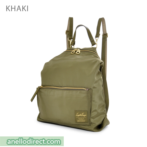 Legato Largo High Density Nylon 2 Way Backpack & Shoulder Bag LH-K1041 Khaki Japan Original Official Authentic Real Genuine Bag Free Shipping Worldwide Special Discount Low Prices Great Offer