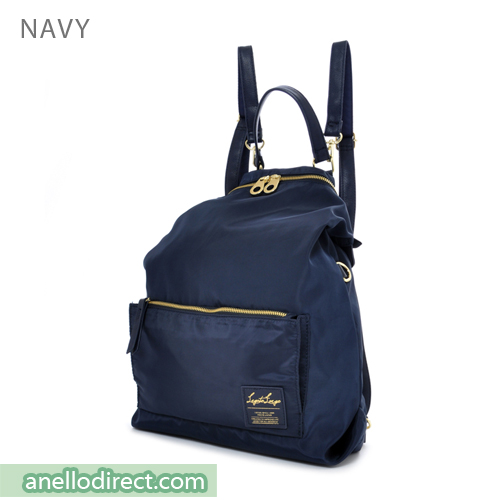 Legato Largo High Density Nylon 2 Way Backpack & Shoulder Bag LH-K1041 Navy Japan Original Official Authentic Real Genuine Bag Free Shipping Worldwide Special Discount Low Prices Great Offer