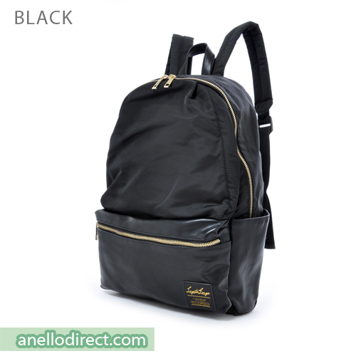 Legato Largo Polyester X PU 10 Pockets Backpack Rucksack LR-H1051 Black Japan Original Official Authentic Real Genuine Bag Free Shipping Worldwide Special Discount Low Prices Great Offer