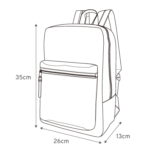 Japan Legato Largo Elegant Nylon-Like Quilting Backpack Rucksack LS-G0773
