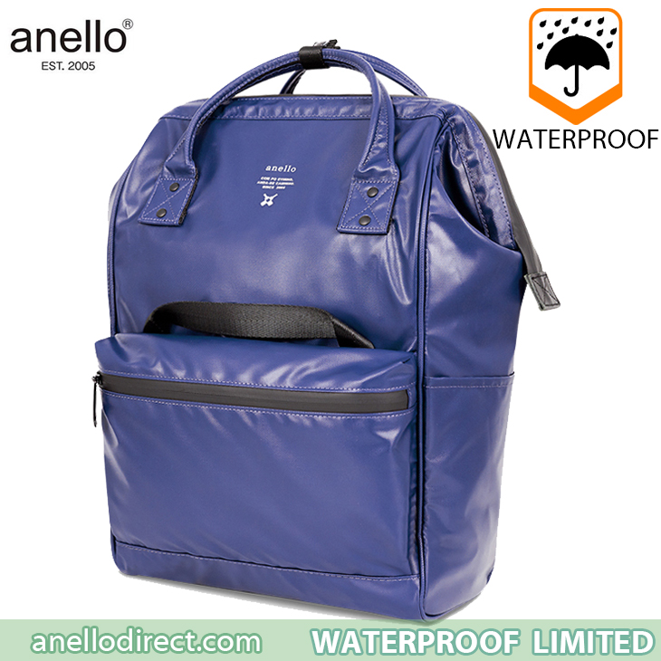 Anello Waterproof Oversea Edition Backpack Rucksack Regular Size OS-B001 Purple Japan Original Official Authentic Real Genuine Bag Free Shipping Worldwide Special Discount Low Prices Great Offer