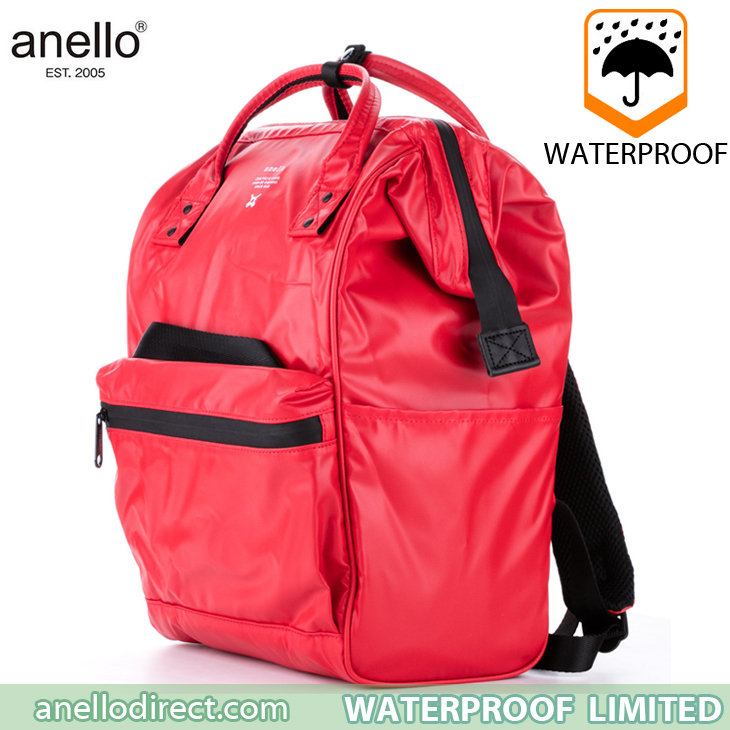 Anello Waterproof Oversea Edition Backpack Rucksack Regular Size OS-B001 Red Japan Original Official Authentic Real Genuine Bag Free Shipping Worldwide Special Discount Low Prices Great Offer