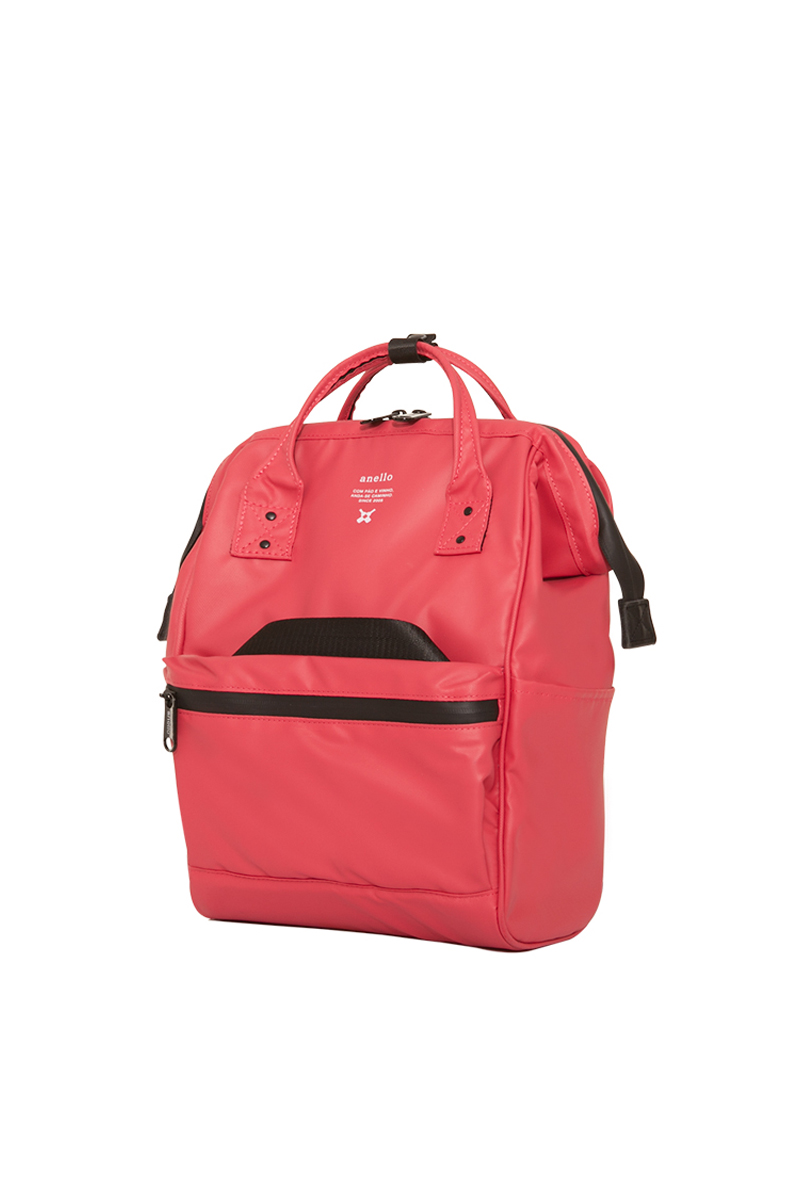 Anello Waterproof Oversea Edition Backpack Rucksack Mini Size OS-B010 Coral Pink Japan Original Official Authentic Real Genuine Bag Free Shipping Worldwide Special Discount Low Prices Great Offer