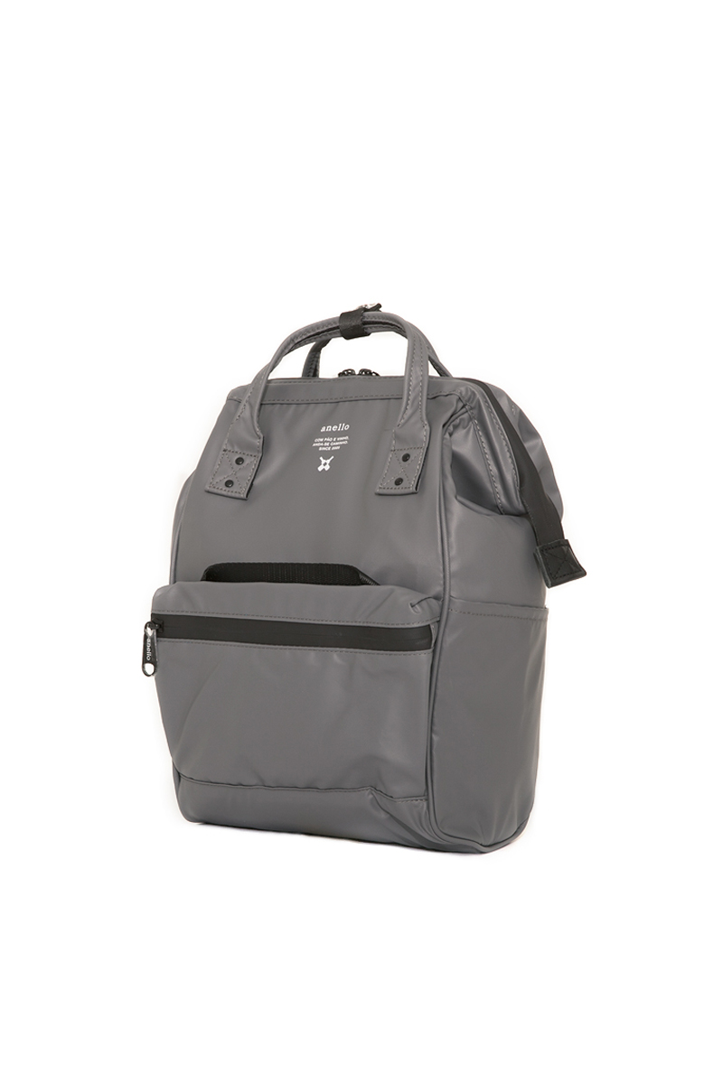 Anello Waterproof Oversea Edition Backpack Rucksack Mini Size OS-B010 Gray Japan Original Official Authentic Real Genuine Bag Free Shipping Worldwide Special Discount Low Prices Great Offer